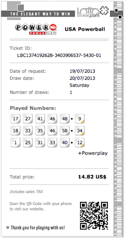 USA Powerball Jackpots