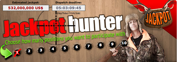 Worlds Biggest Lottery Jackpot hunter