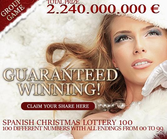Loteria de Navidad spanish lottery