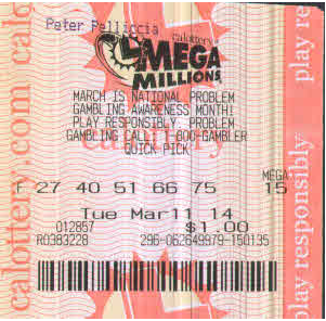 Wintrillions Review Mega Millions Lottery ticket