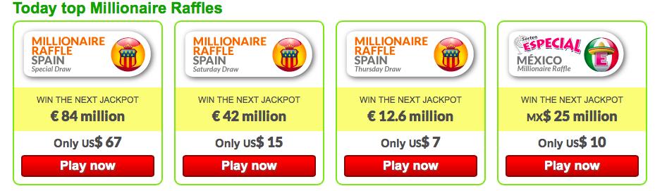 Millionaire raffles