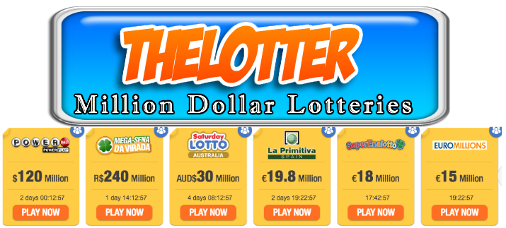 ,illion dollar lotteries
